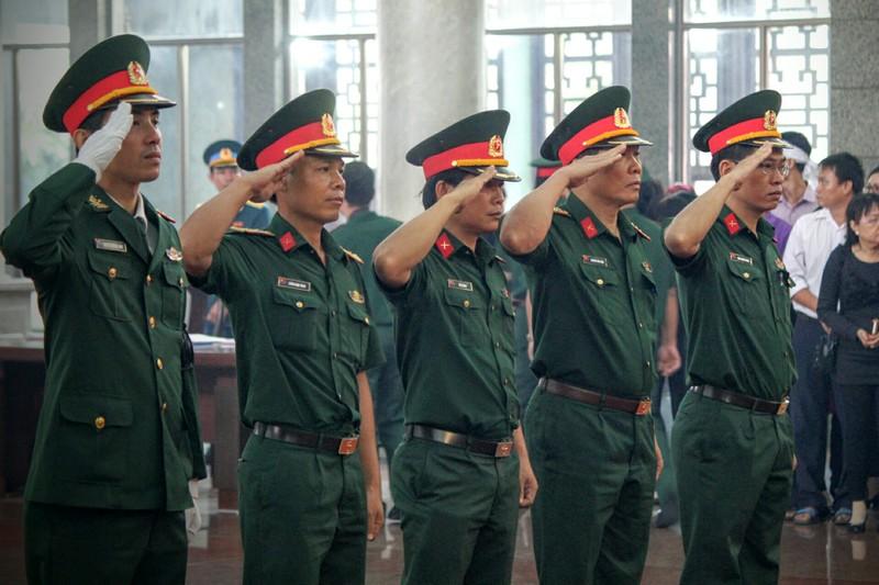 Lễ truy điệu 3 phi công hi sinh khi làm nhiệm vụ - ảnh 39