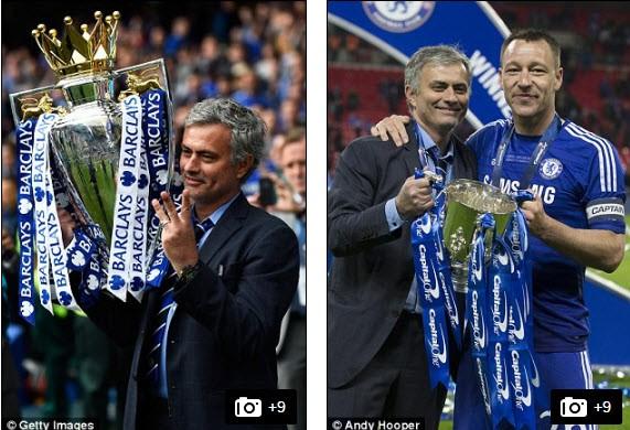 Mourinho: 'Tôi đã không khóc' - ảnh 2