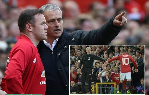 Mourinho thẳng thừng khuyên Rooney nên chia tay M.U - ảnh 1