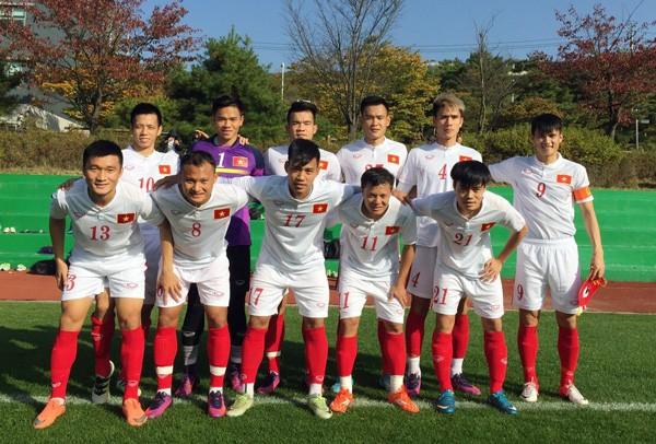 Việt Nam thắng đậm trận đá tập cuối cùng ở Hàn Quốc - ảnh 1