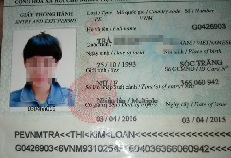 Cô gái Việt lạc đường ở Trung Quốc sử dụng giấy tờ giả - ảnh 2