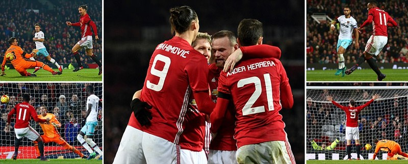 MU thắng tưng bừng, Arsenal thua sốc - ảnh 1