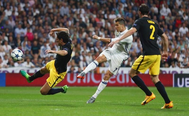 Ronaldo lập hattrick, Real nhấn chìm Atletico - ảnh 2