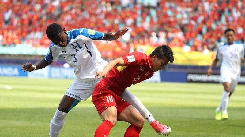 U-20 Việt Nam thua vì thể lực trước U-20 Honduras - ảnh 9