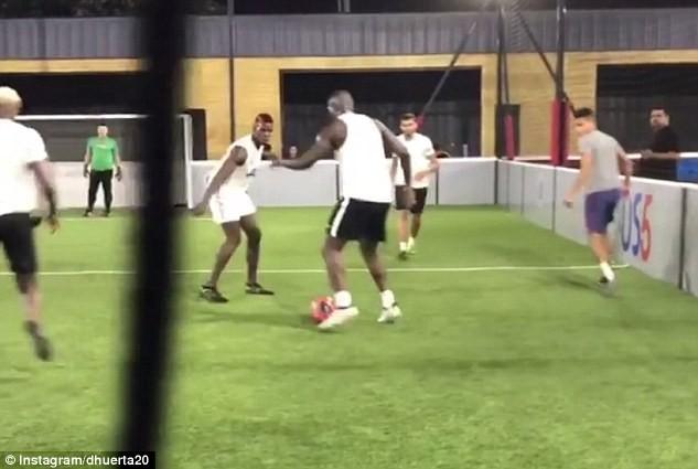 Lukaku và Pogba cùng tập luyện ở Mỹ, chờ hội ngộ tại MU - ảnh 9