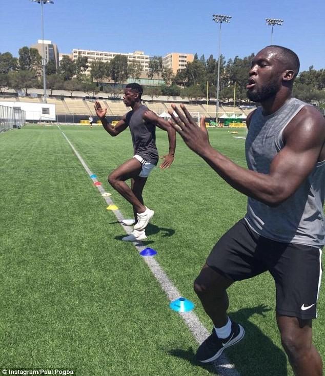 Lukaku và Pogba cùng tập luyện ở Mỹ, chờ hội ngộ tại MU - ảnh 3