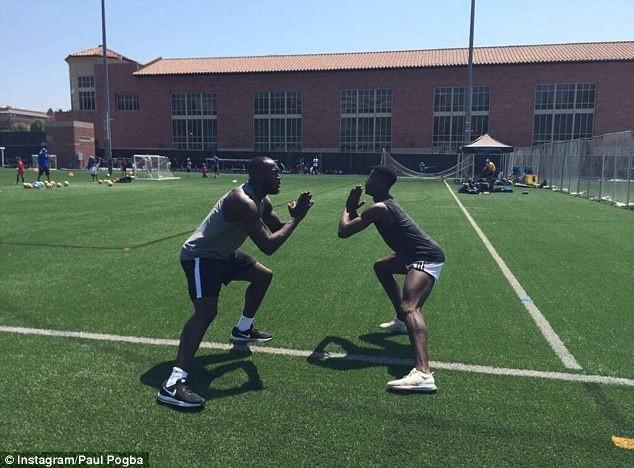 Lukaku và Pogba cùng tập luyện ở Mỹ, chờ hội ngộ tại MU - ảnh 5