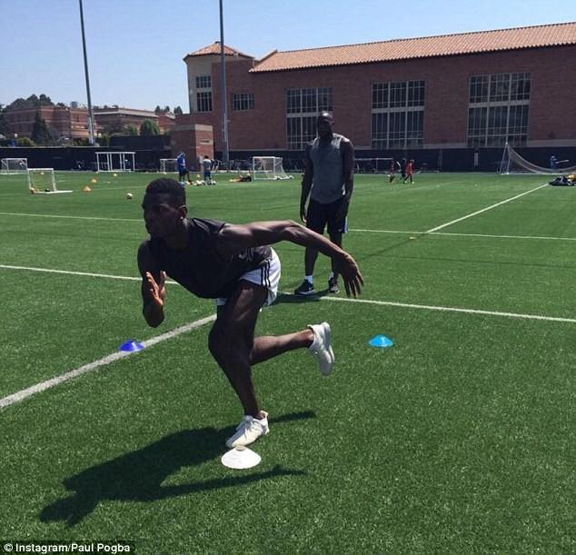Lukaku và Pogba cùng tập luyện ở Mỹ, chờ hội ngộ tại MU - ảnh 6
