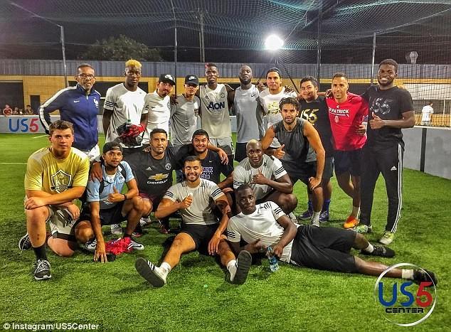 Lukaku và Pogba cùng tập luyện ở Mỹ, chờ hội ngộ tại MU - ảnh 2