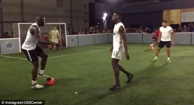 Lukaku và Pogba cùng tập luyện ở Mỹ, chờ hội ngộ tại MU - ảnh 7