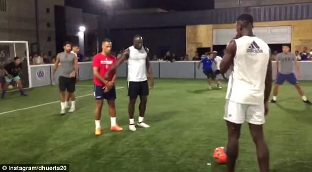 Lukaku và Pogba cùng tập luyện ở Mỹ, chờ hội ngộ tại MU - ảnh 8