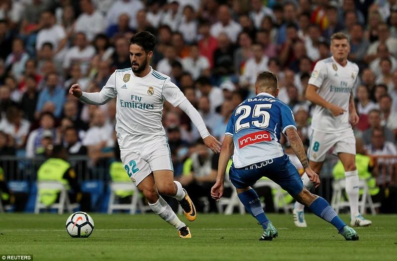 Nhờ Isco, Real Madrid thắng trận đầu tiên trên sân nhà - ảnh 3