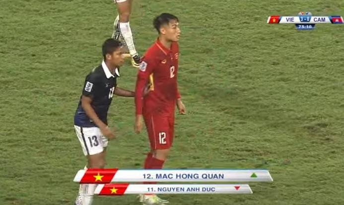 Việt Nam 5-0 Campuchia: Bất ngờ hàng công! - ảnh 13