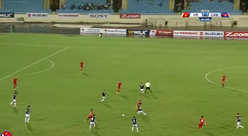 Việt Nam 5-0 Campuchia: Bất ngờ hàng công! - ảnh 26