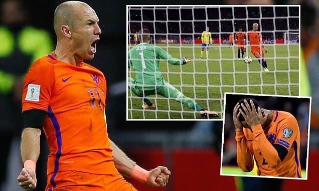 Robben, Sanchez lỡ hẹn với World Cup 2018 - ảnh 1