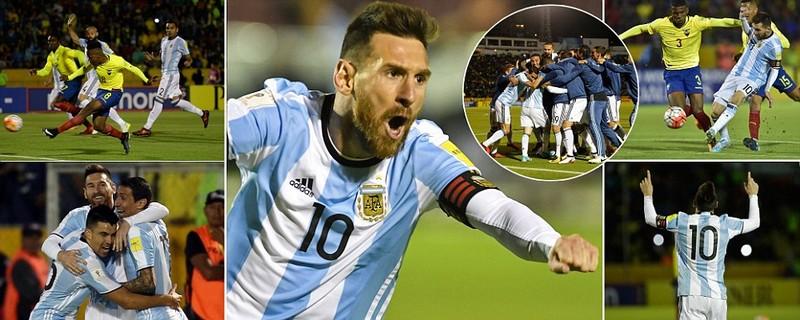 Messi thần thánh giải cứu đất nước Argentina - ảnh 1