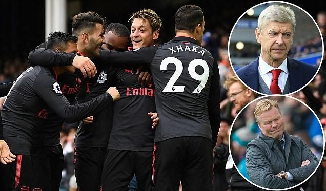Cựu sau MU ghi bàn, Everton vẫn bị Arsenal đè bẹp - ảnh 3