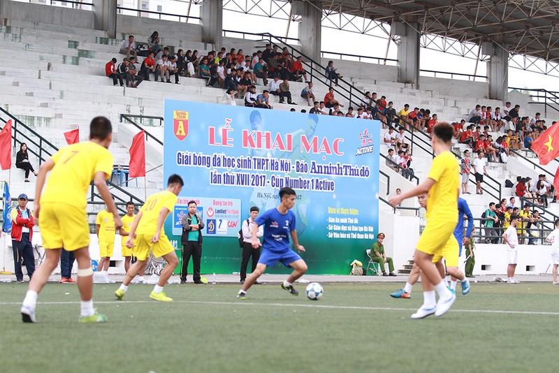Khai mạc giải bóng đá học sinh Hà Nội - ảnh 2