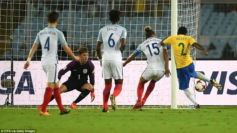 Anh đánh bại Brazil vào chung kết World Cup - ảnh 1