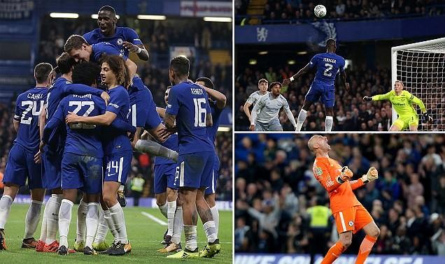 Tottenham thua ngược cực sốc, Chelsea đi tiếp - ảnh 3