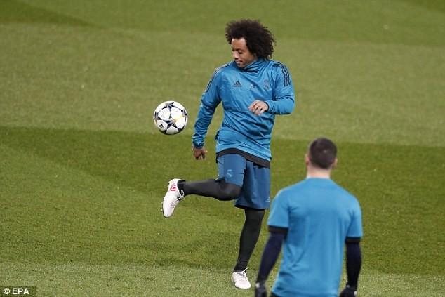 Real Madrid tập kín trước trận đấu của cả mùa giải - ảnh 8