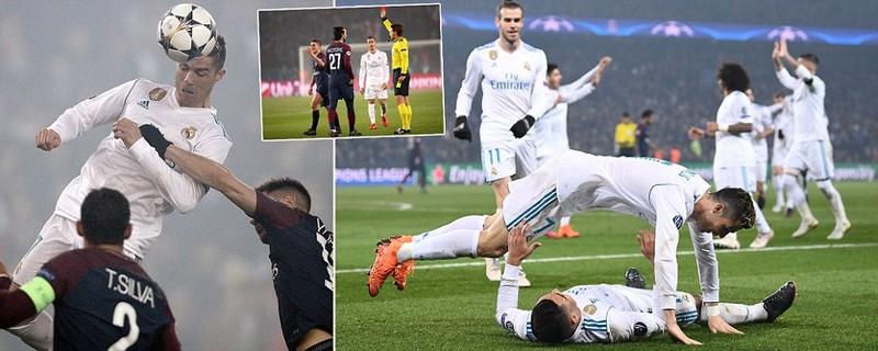 Verratti bị đuổi, PSG đuối và bị Real Madrid loại - ảnh 1