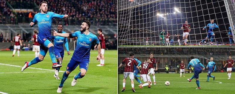 Arsenal đả bại AC Milan, Dortmund thua sốc - ảnh 1