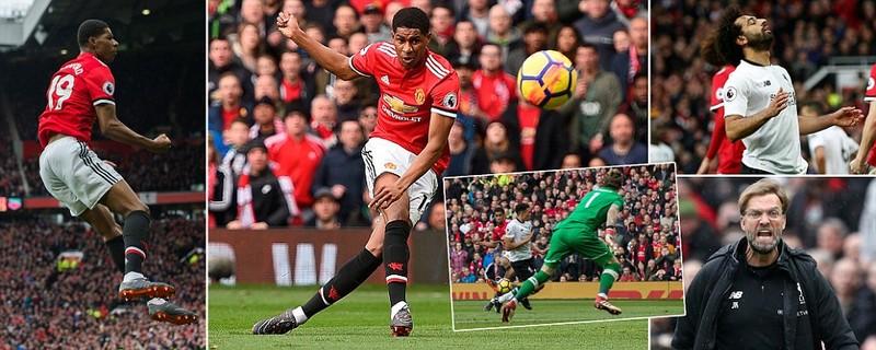 Mourinho quá cao tay tung Rashford, MU hạ gục Liverpool - ảnh 1