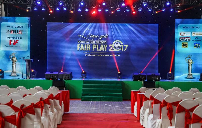 Gala trao giải Fair Play 2017 trước giờ G - ảnh 1