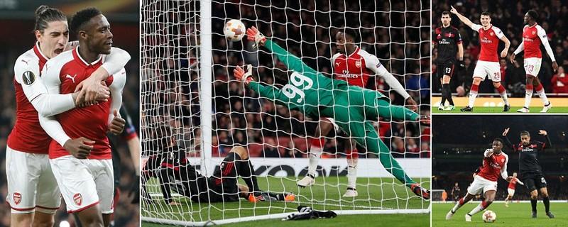 Atletico, Arsenal 'hủy diệt' đối thủ, Dortmund bị loại - ảnh 1