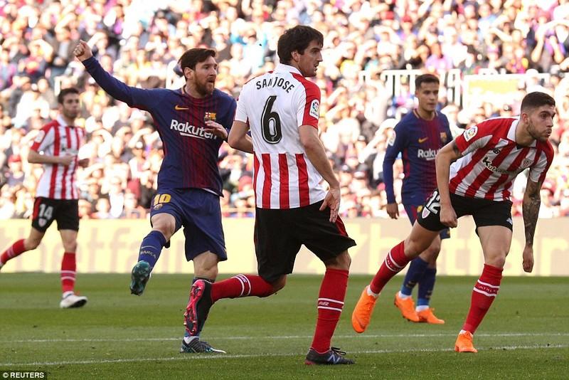 Messi lại tỏa sáng, Barcelona băng băng về đích - ảnh 2