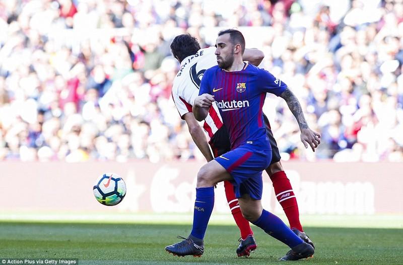 Messi lại tỏa sáng, Barcelona băng băng về đích - ảnh 1