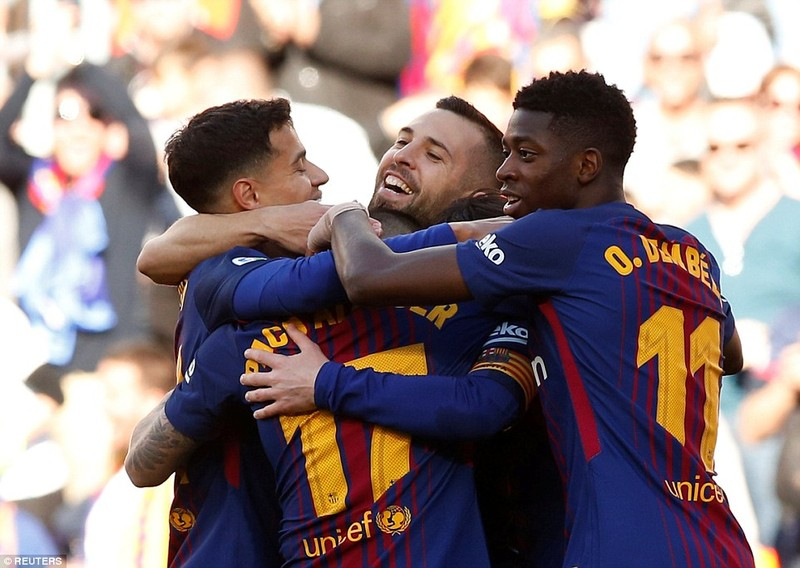 Messi lại tỏa sáng, Barcelona băng băng về đích - ảnh 4