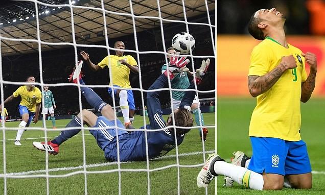 Sao Man City giúp Brazil quên đi nỗi đau thua Đức 1-7 - ảnh 1