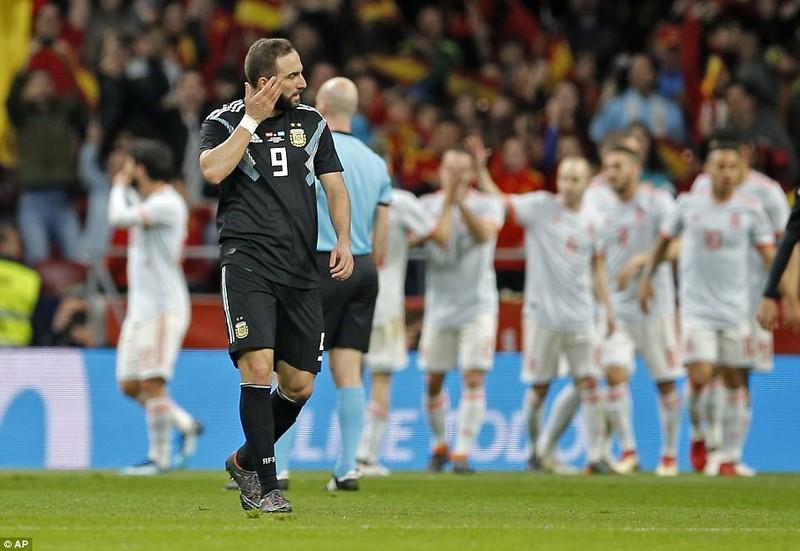 Tây Ban Nha vùi dập Argentina với tỉ số không tưởng - ảnh 5