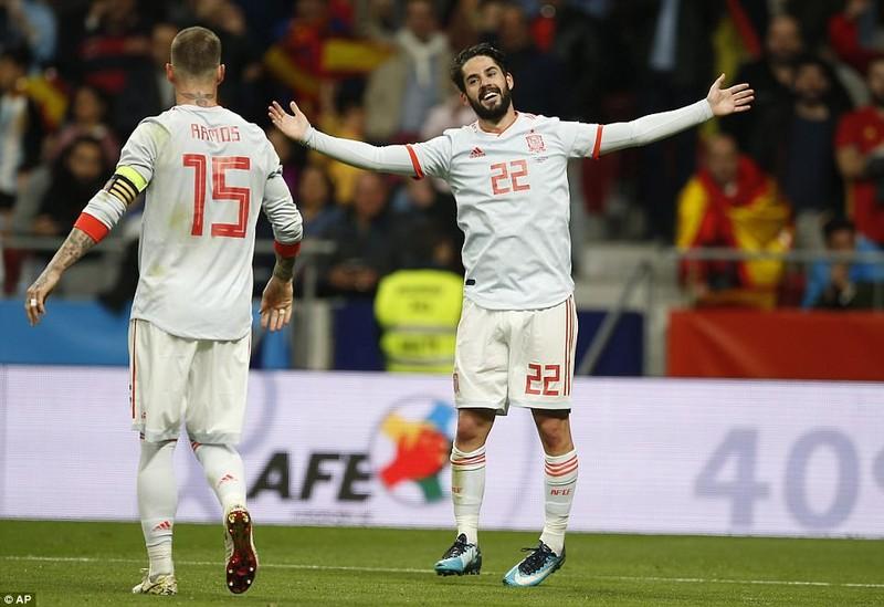 Tây Ban Nha vùi dập Argentina với tỉ số không tưởng - ảnh 4
