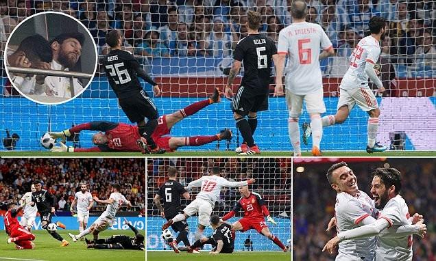 Tây Ban Nha vùi dập Argentina với tỉ số không tưởng - ảnh 1