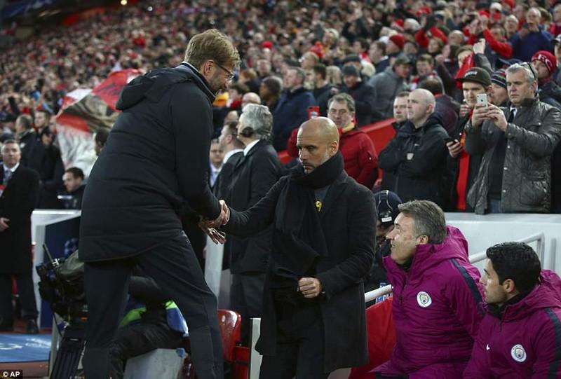 Liverpool đè bẹp Man. City, Guardiola ôm đầu ngao ngán - ảnh 8