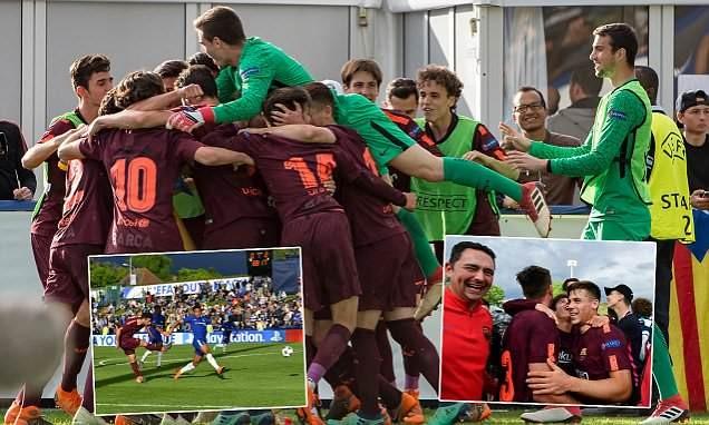 Sao trẻ 17 tuổi giúp Barcelona đả bại Chelsea vô địch châu Âu - ảnh 1