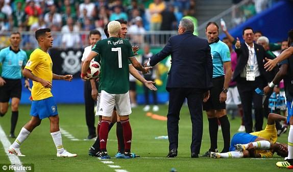 Neymar rực sáng, Brazil khiến Mexico 'ôm hận' 7 lần liên tiếp - ảnh 8