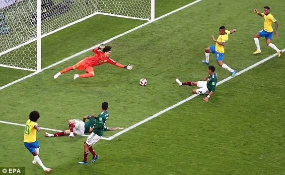 Neymar rực sáng, Brazil khiến Mexico 'ôm hận' 7 lần liên tiếp - ảnh 5