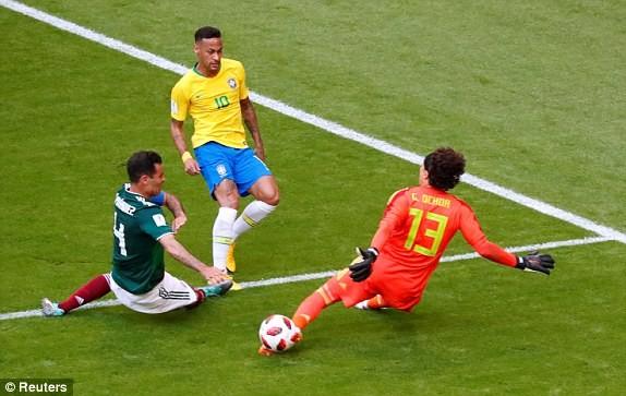 Neymar rực sáng, Brazil khiến Mexico 'ôm hận' 7 lần liên tiếp - ảnh 2