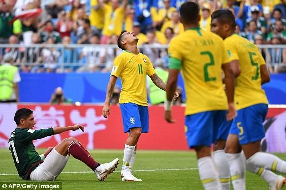 Neymar rực sáng, Brazil khiến Mexico 'ôm hận' 7 lần liên tiếp - ảnh 3