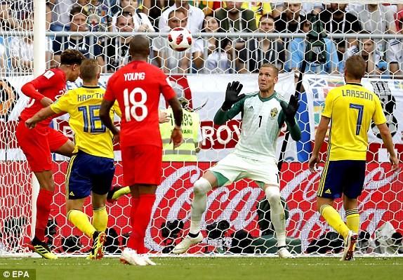 Hạ gục Thụy Điển, Anh lần đầu vào bán kết World Cup sau 28 năm - ảnh 4