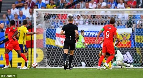 Hạ gục Thụy Điển, Anh lần đầu vào bán kết World Cup sau 28 năm - ảnh 1