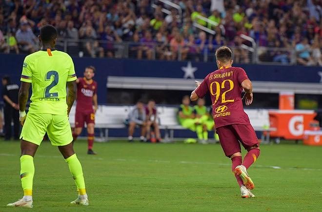 AS Roma lại gieo ác mộng cho Barcelona - ảnh 2