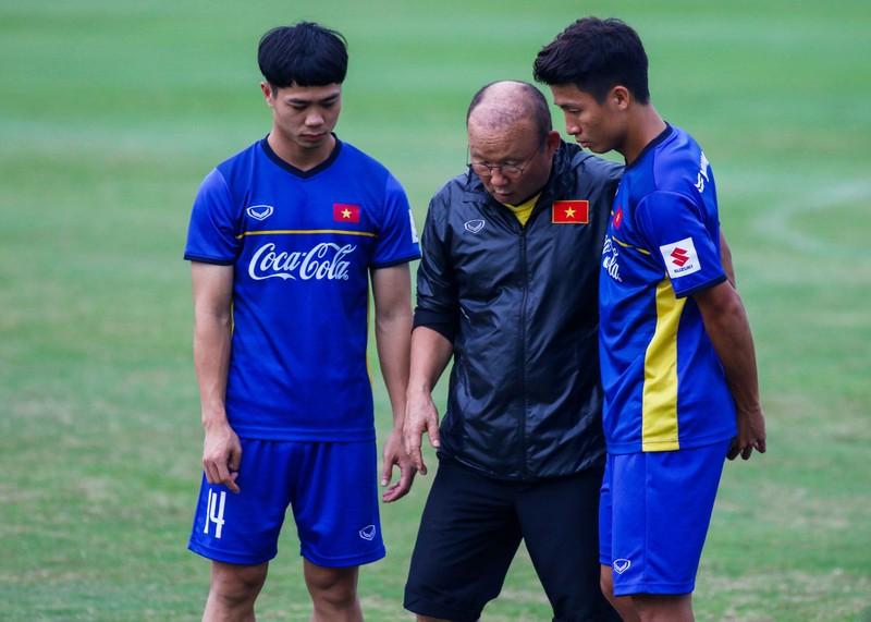 U-23 Việt Nam 'luyện công' chờ 'đấu' Oman - ảnh 12