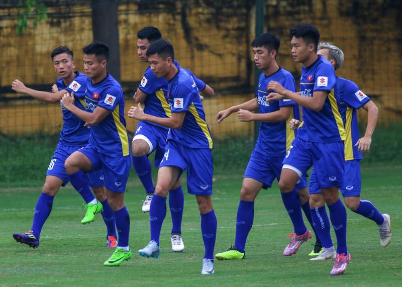 U-23 Việt Nam 'luyện công' chờ 'đấu' Oman - ảnh 4