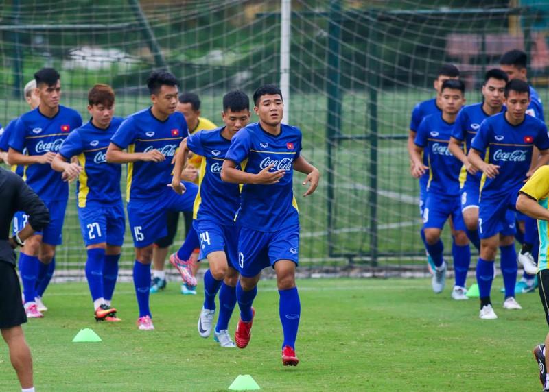 U-23 Việt Nam 'luyện công' chờ 'đấu' Oman - ảnh 7