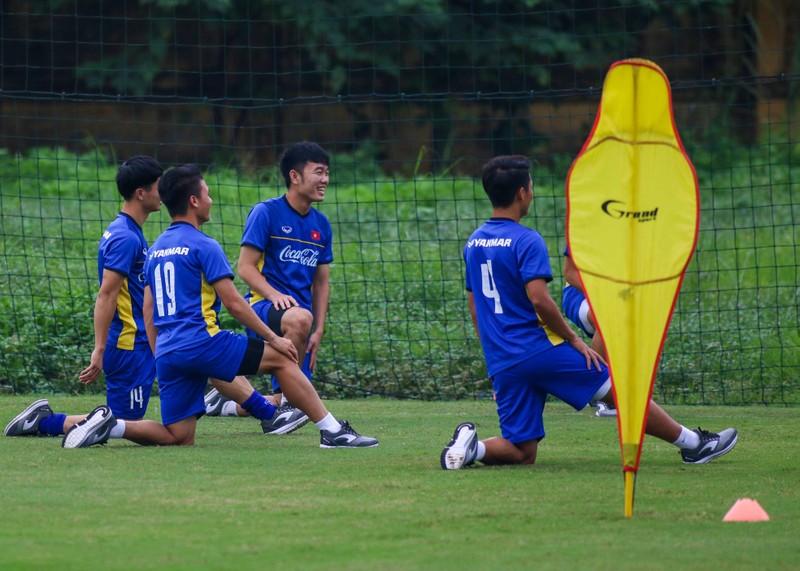 U-23 Việt Nam 'luyện công' chờ 'đấu' Oman - ảnh 9